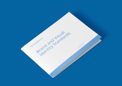 GOLDENROD: Visual Identity Brand Book Cover