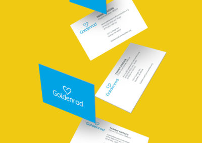 GOLDENROD: Business Cards